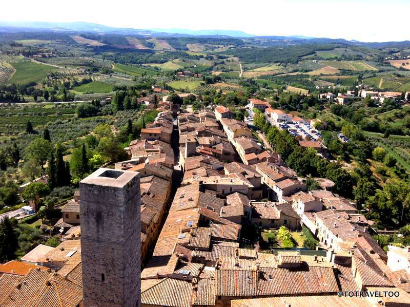 San Gimignano from the Tower