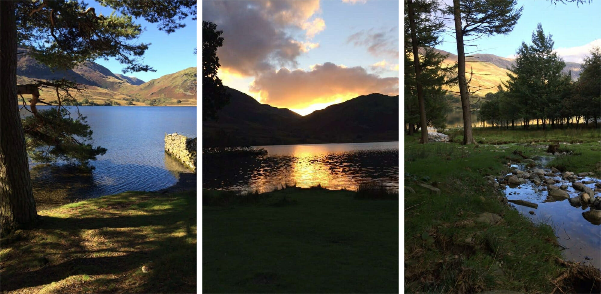 The Lake District Buttermere and Crummock Water