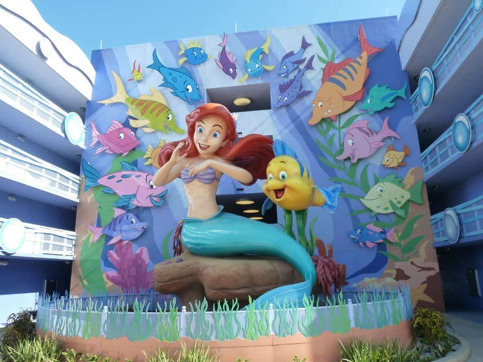Art of Animation Little Mermaid