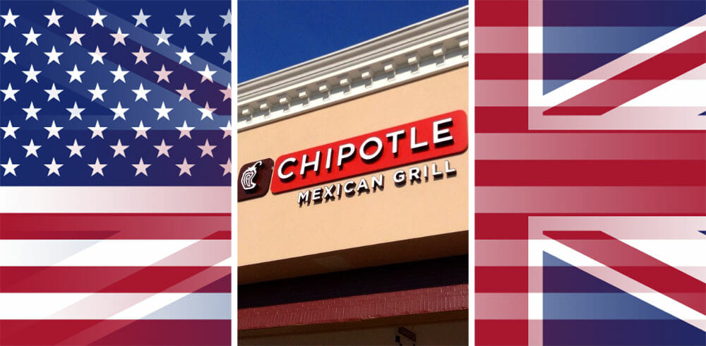 Is there a Chipotle in London or England