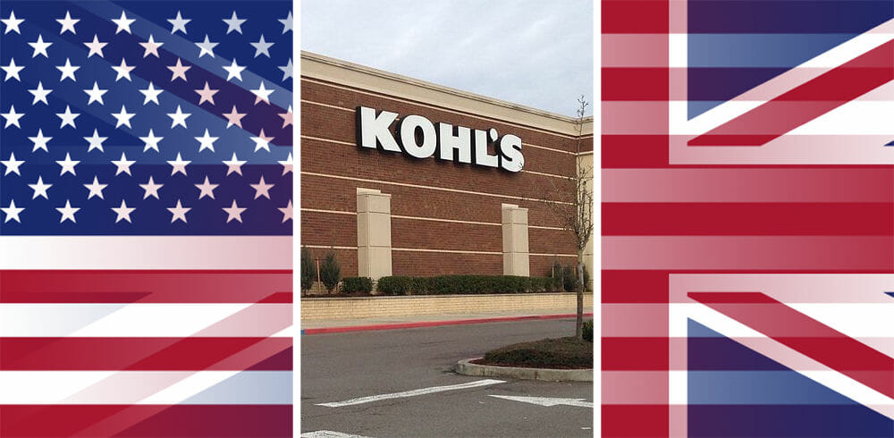 Is there a Kohl's in England or the UK