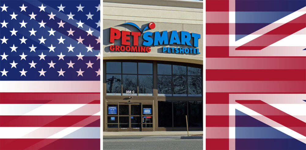 Is there a Petsmart in London or the UK