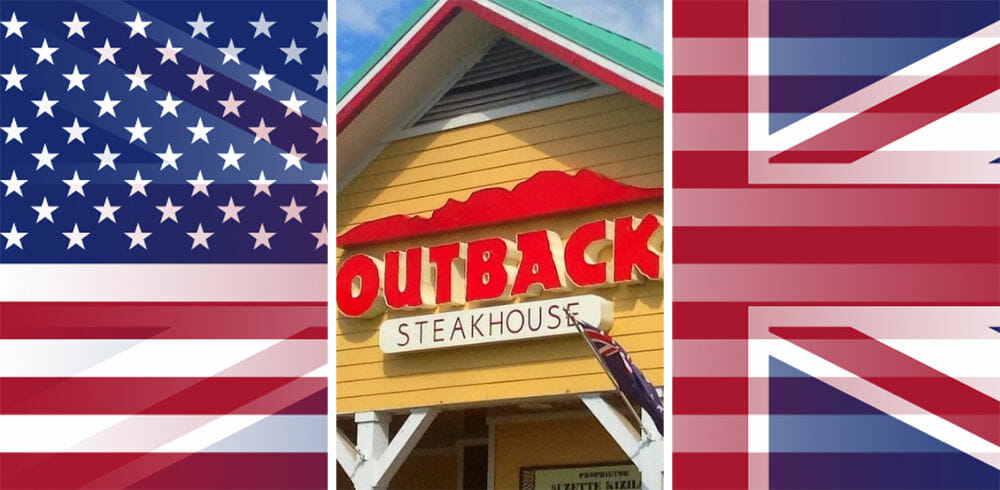 Is there an Outback Steakhouse in England or the UK