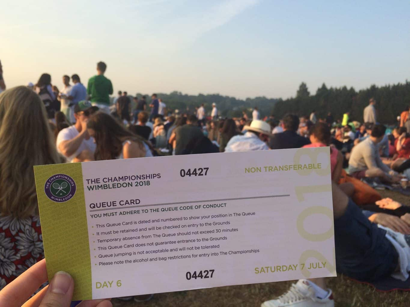 The Ultimate Guide to Queuing at Wimbledon in 2021 (+ Pictures!) - girl  gone london