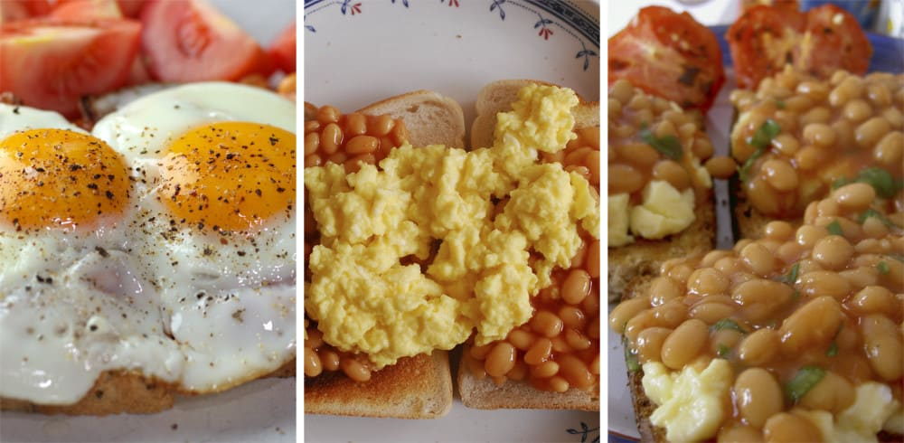 Do They Eat Eggs and Beans on Toast in America