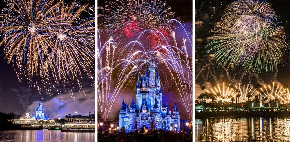 Disney Fireworks for Free