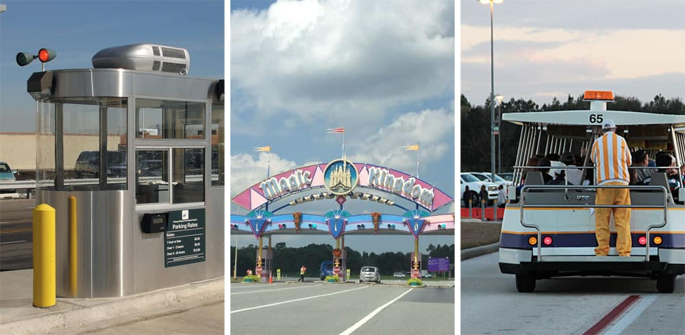 Avoid Parking Fees at Disneyworld