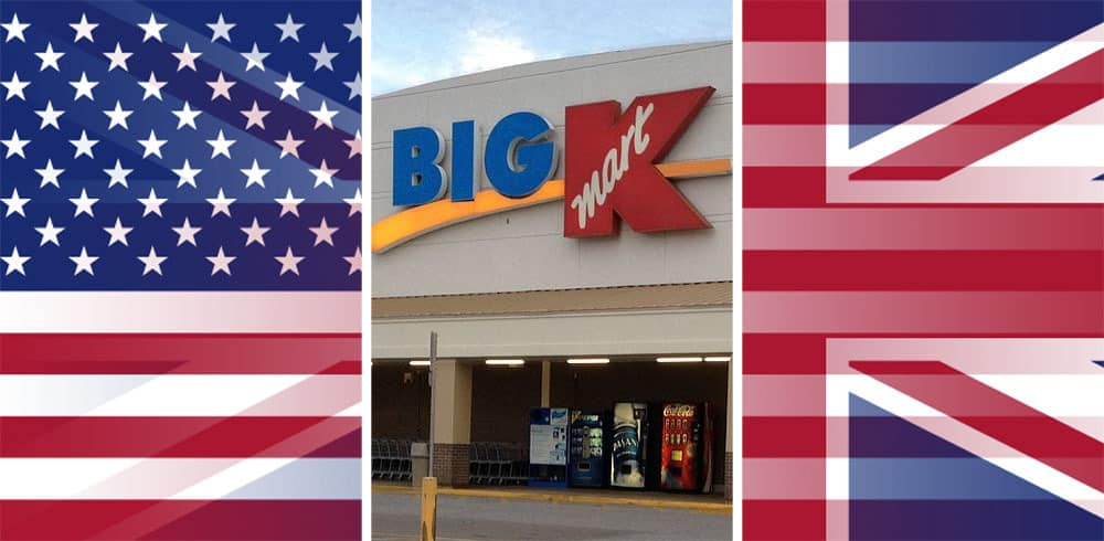 Is There a KMart in The UK