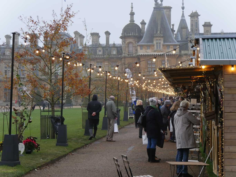 Christmas fair at Waddesdon Manor