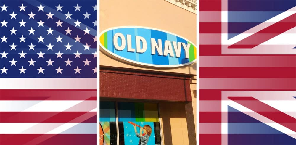 Is There an Old Navy in The Uk