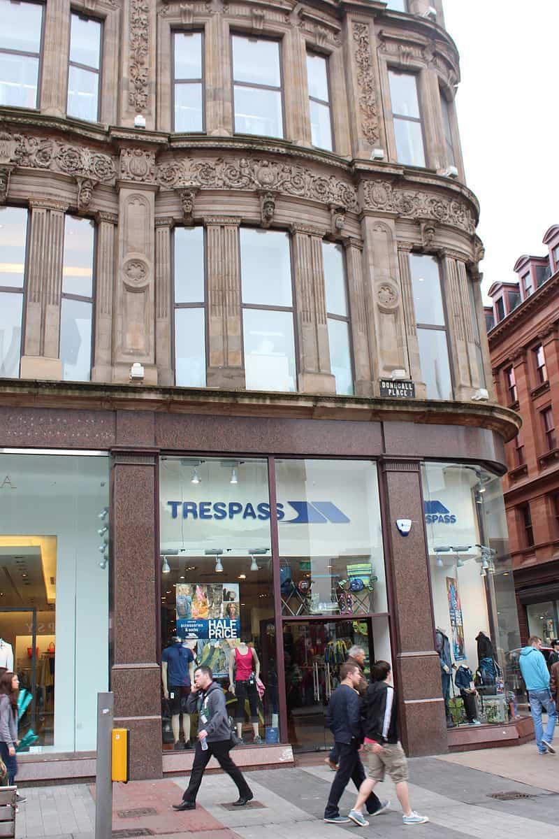 Trespass store