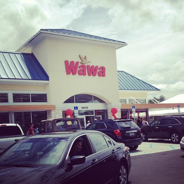 The first Wawa in Orlando with cars outside