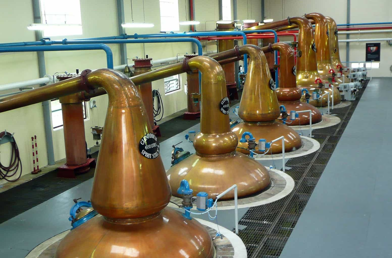 A distillery in Scotland