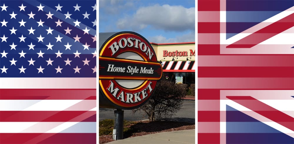 Is there a Boston Market in the UK