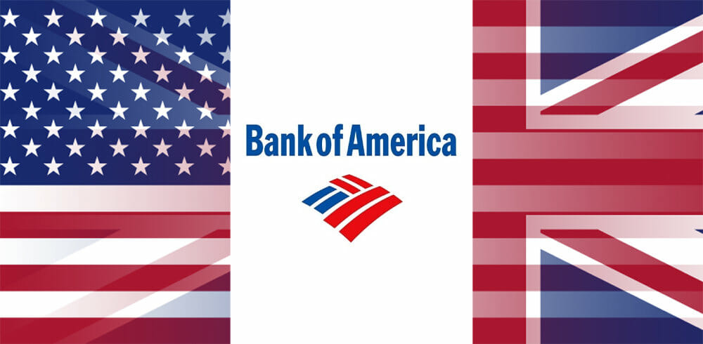 Is there a Bank of America in London or the UK