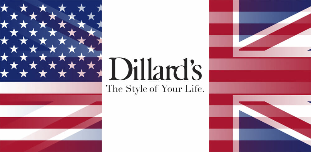 Is there a Dillards in London or the UK