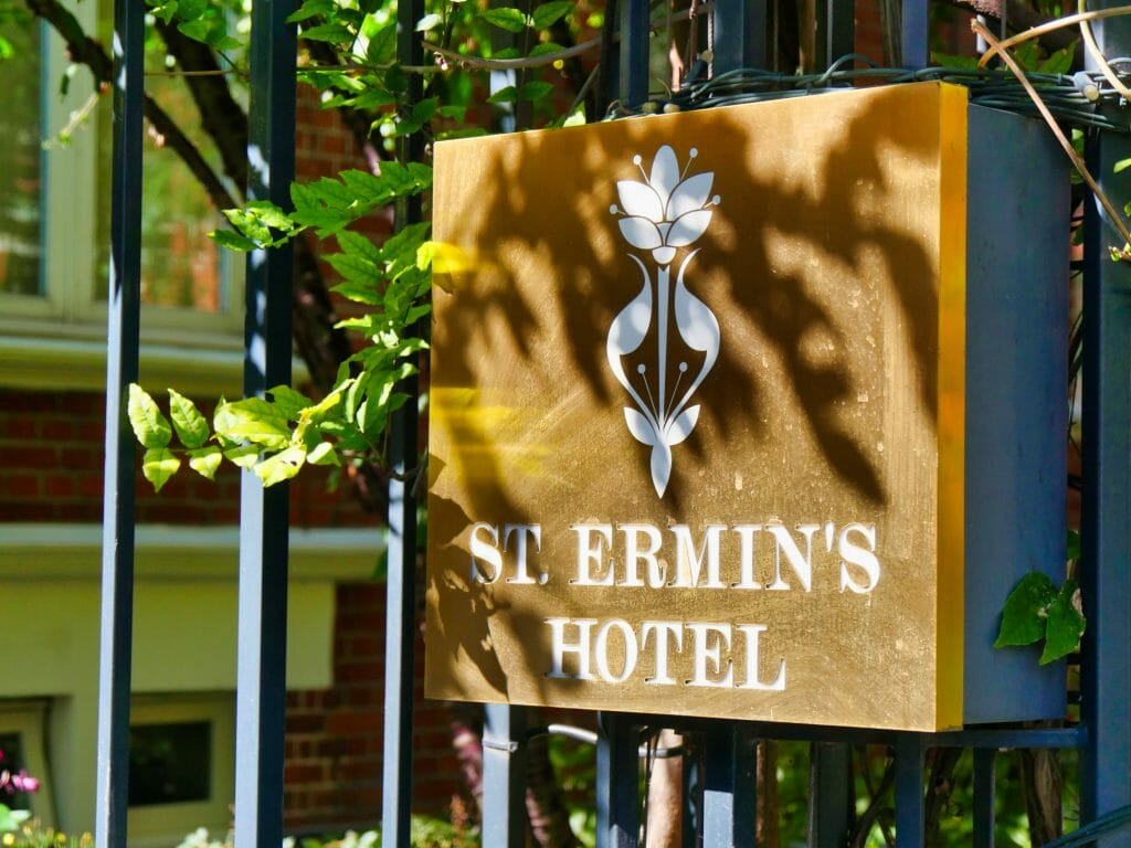 St. Ermin's Hotel Sign