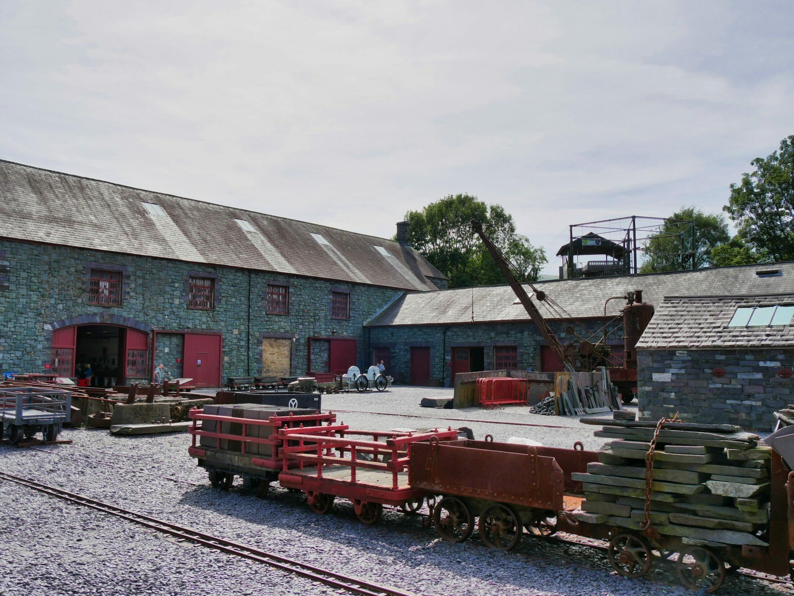 Llanberis Slate Museum in Wales