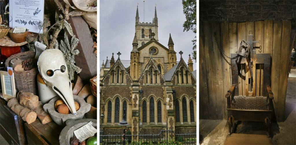 Old Operating Theatre Museum, Southwark Cathedral, and Clink Prison Museum