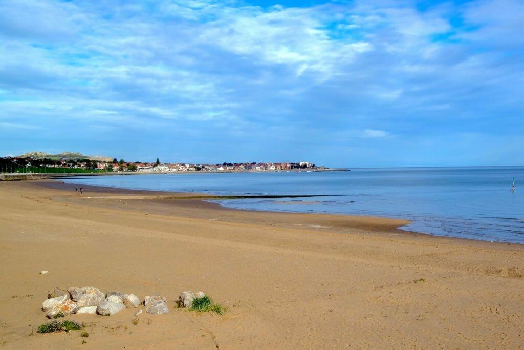 Beach at Colwyn Bay North Wales