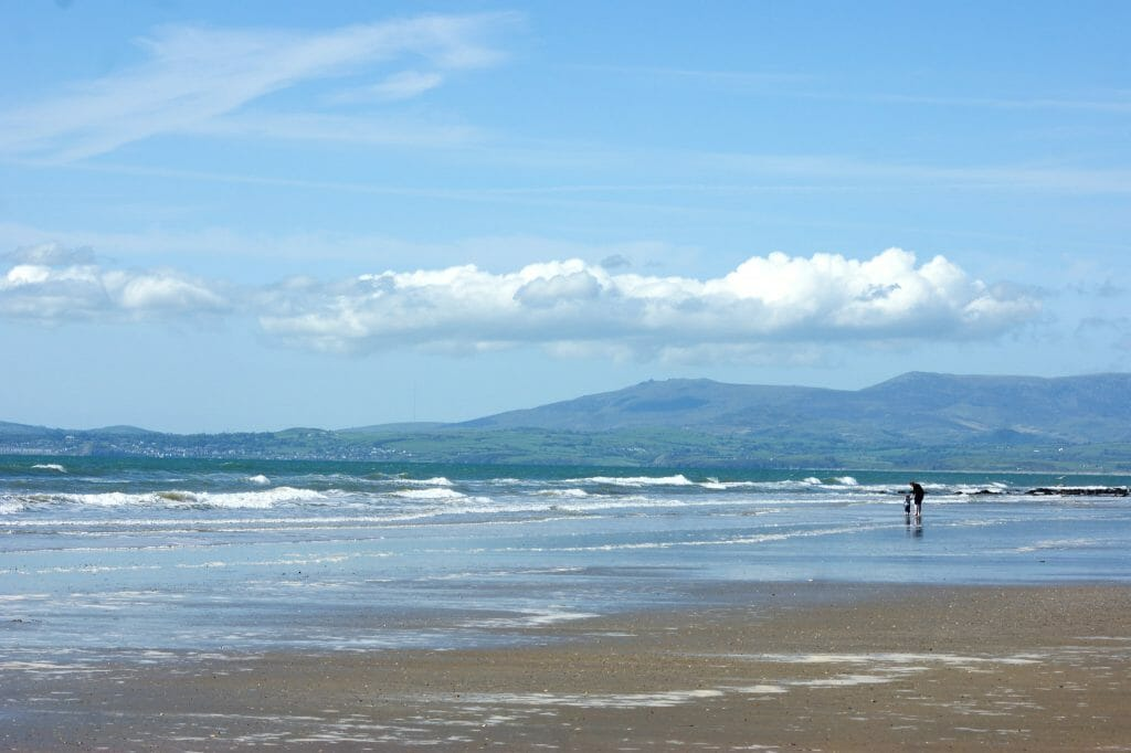 Beach in Shell Island Wales