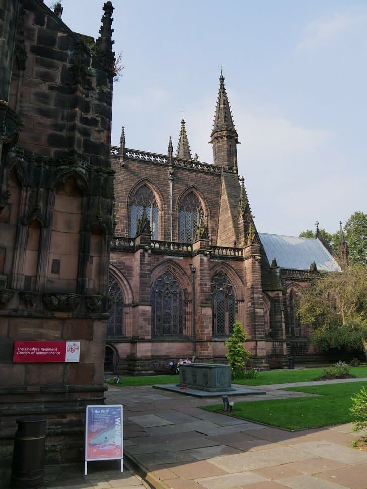 Exterior of St Giles Church Wrexham