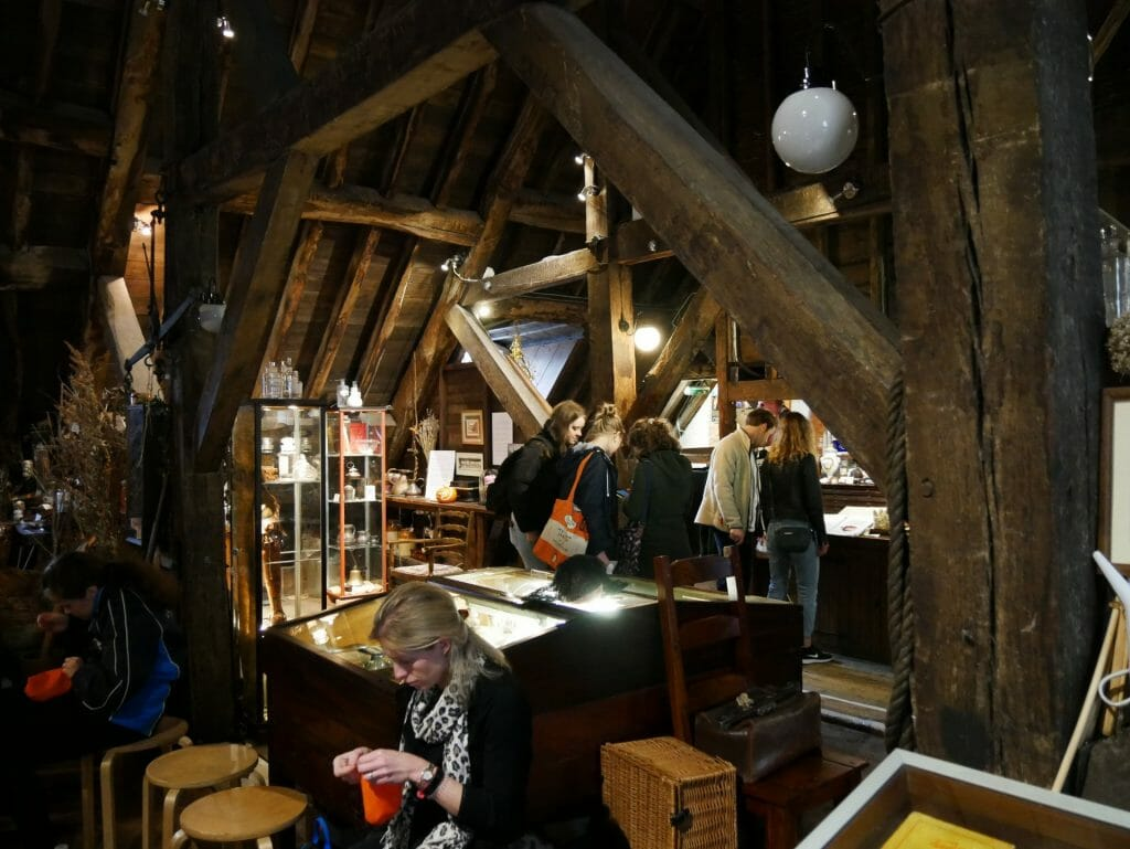Inside the apothecary at the Old Operating Theatre, London