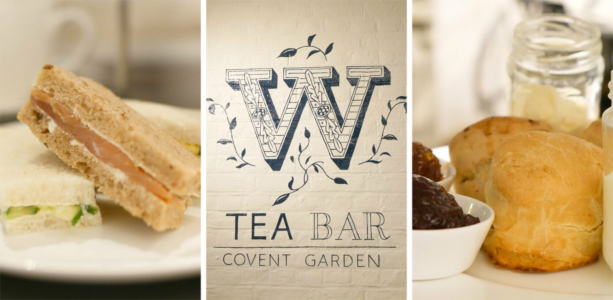 Review Afternoon Tea at Whittards Covent Garden Tea Bar