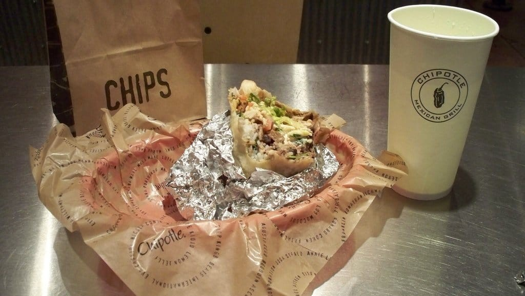 Chipotle in London