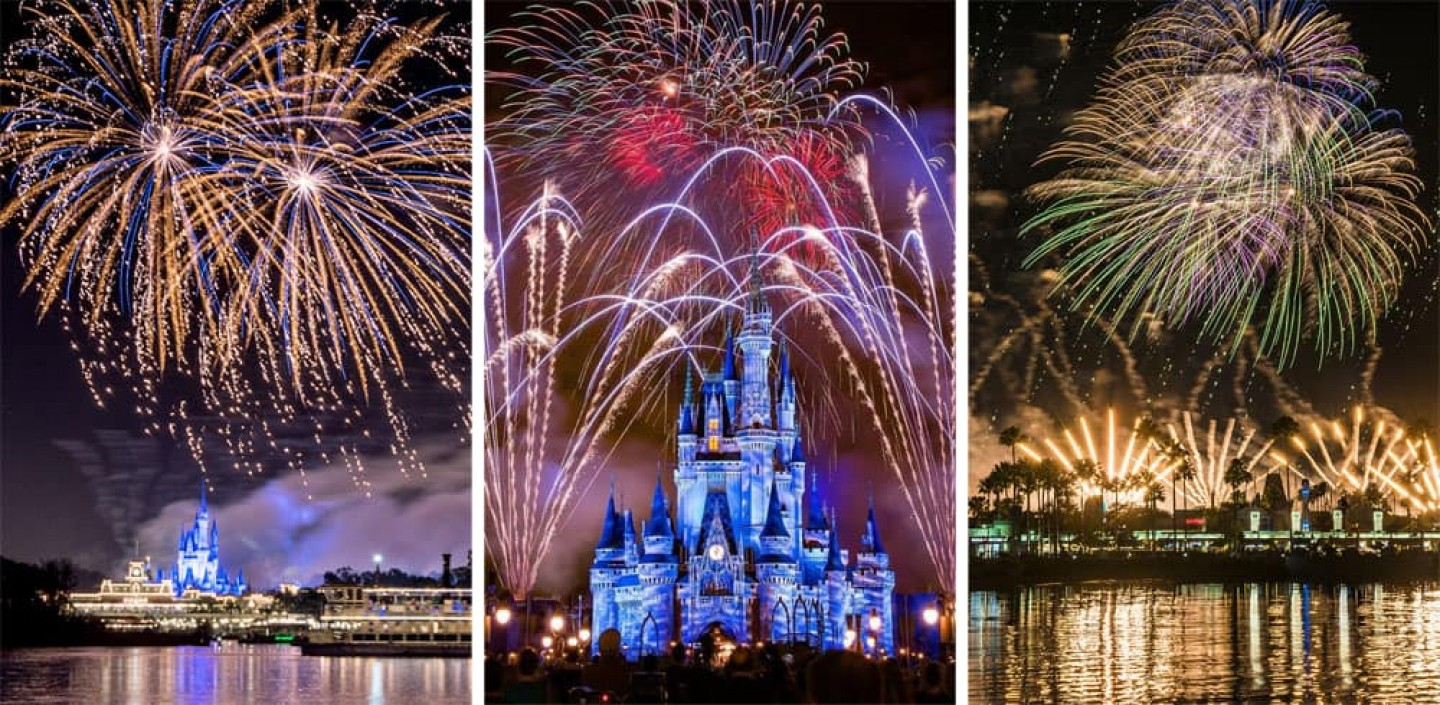 Disney Fireworks for Free