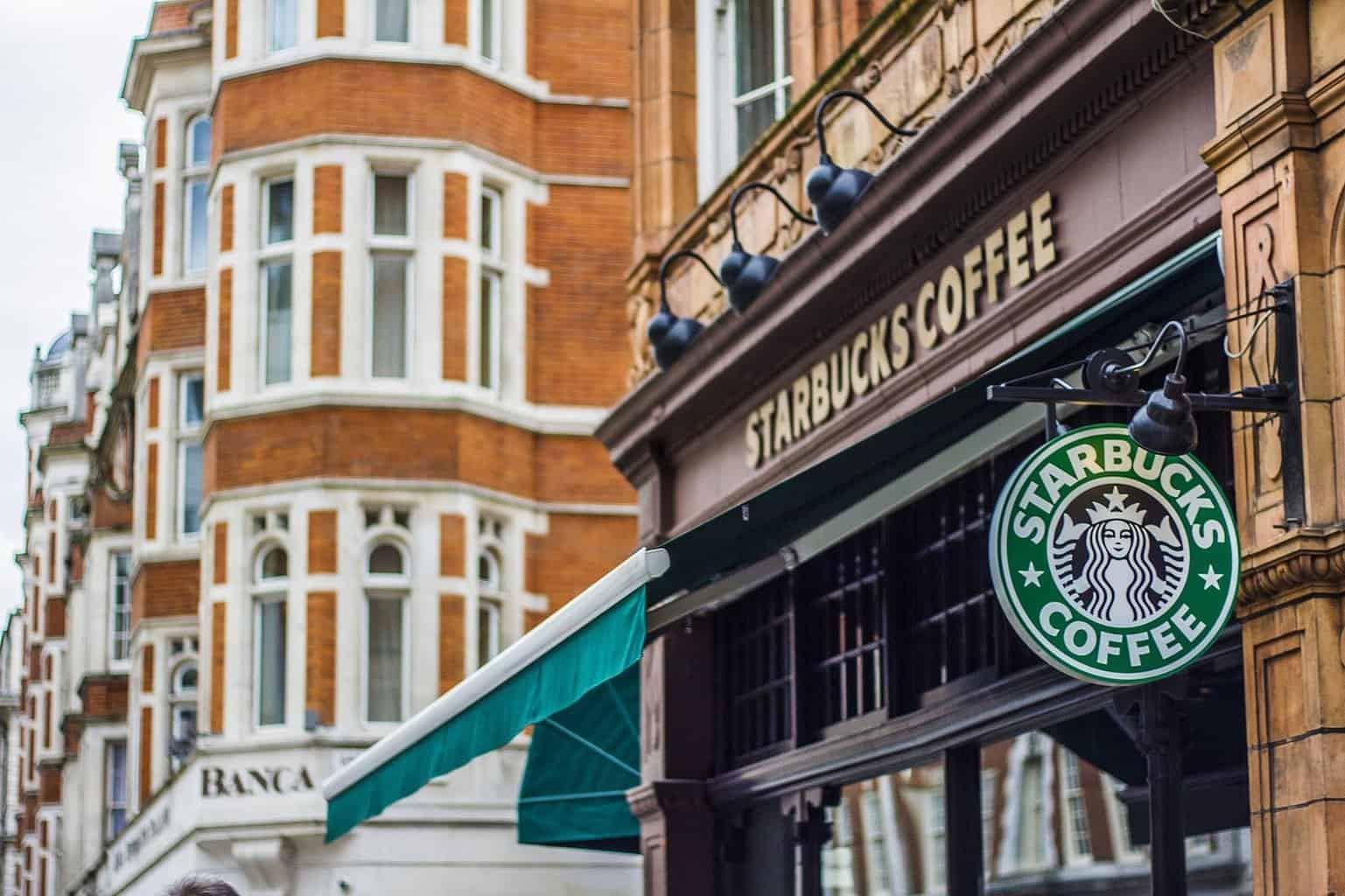 Starbucks in London 1
