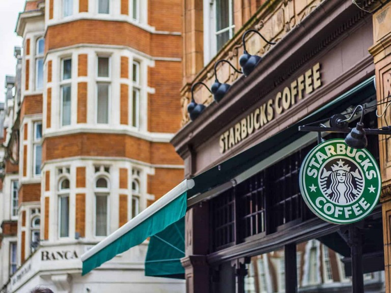 Starbucks in London 1