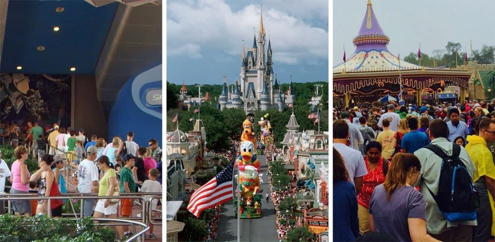 Aoiding Lines at Disneyworld