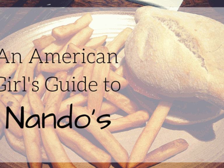 An American Girl's Guide to Nando's