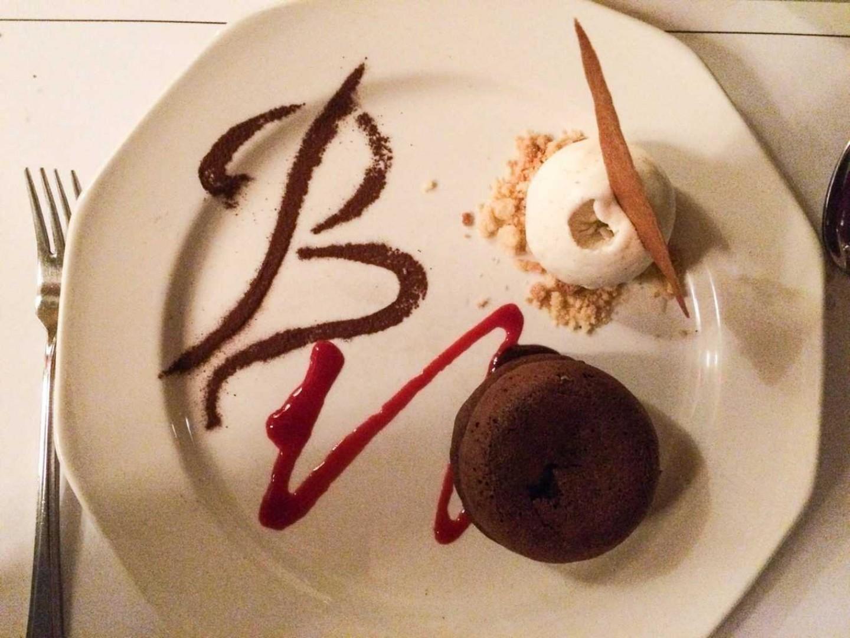 Le Blaireau Careys Manor Dessert