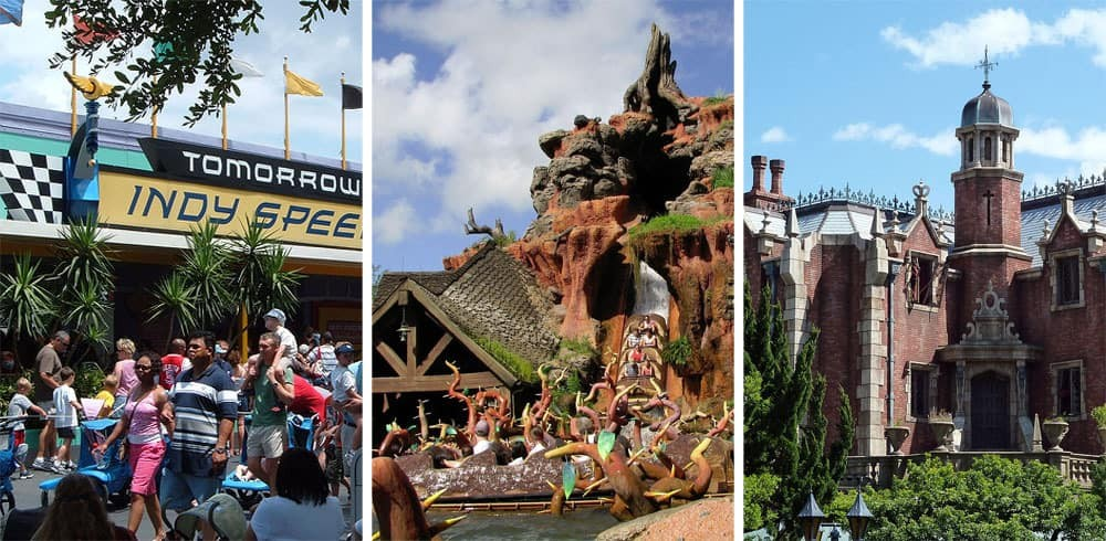 Rides for Teenagers and Tweens at Magic Kingdom