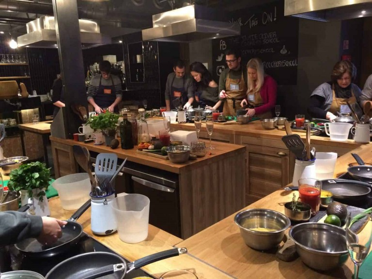 Jamie Oliver Cookery School 6