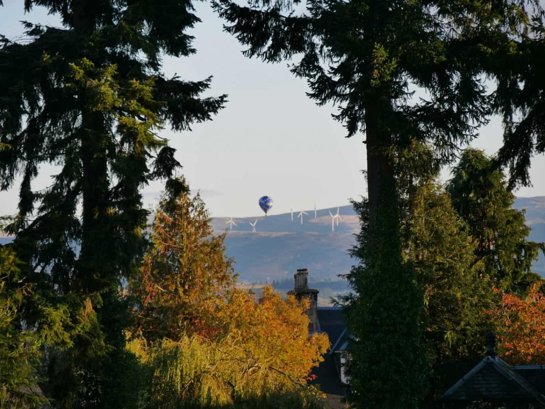 Crieff Hydro Hot Air Balloon
