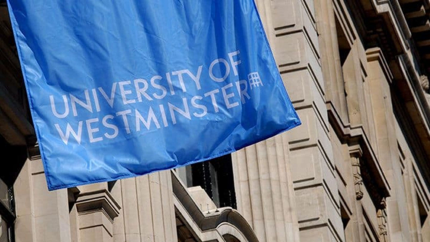 university-of-westminster-blue-flag
