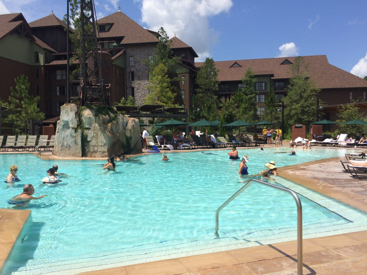 Wilderness Lodge Boulder Ridge Pool