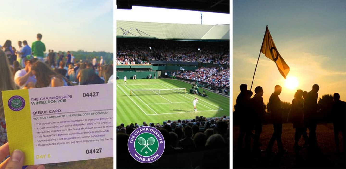 Wimbledon Queue