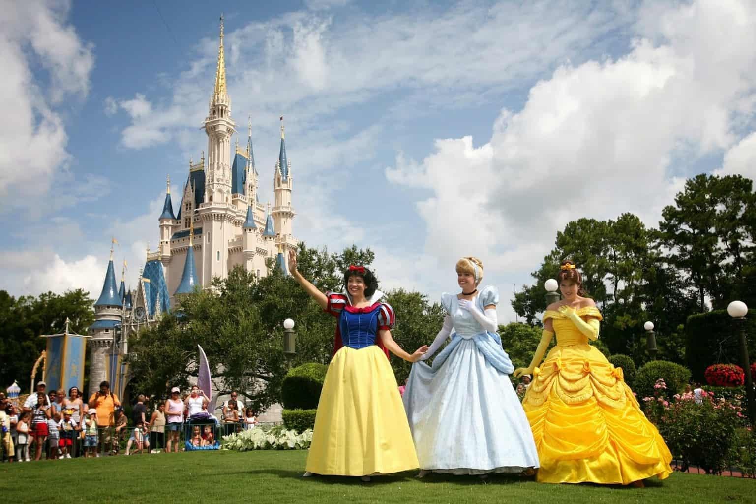 Disney Princesses Castle