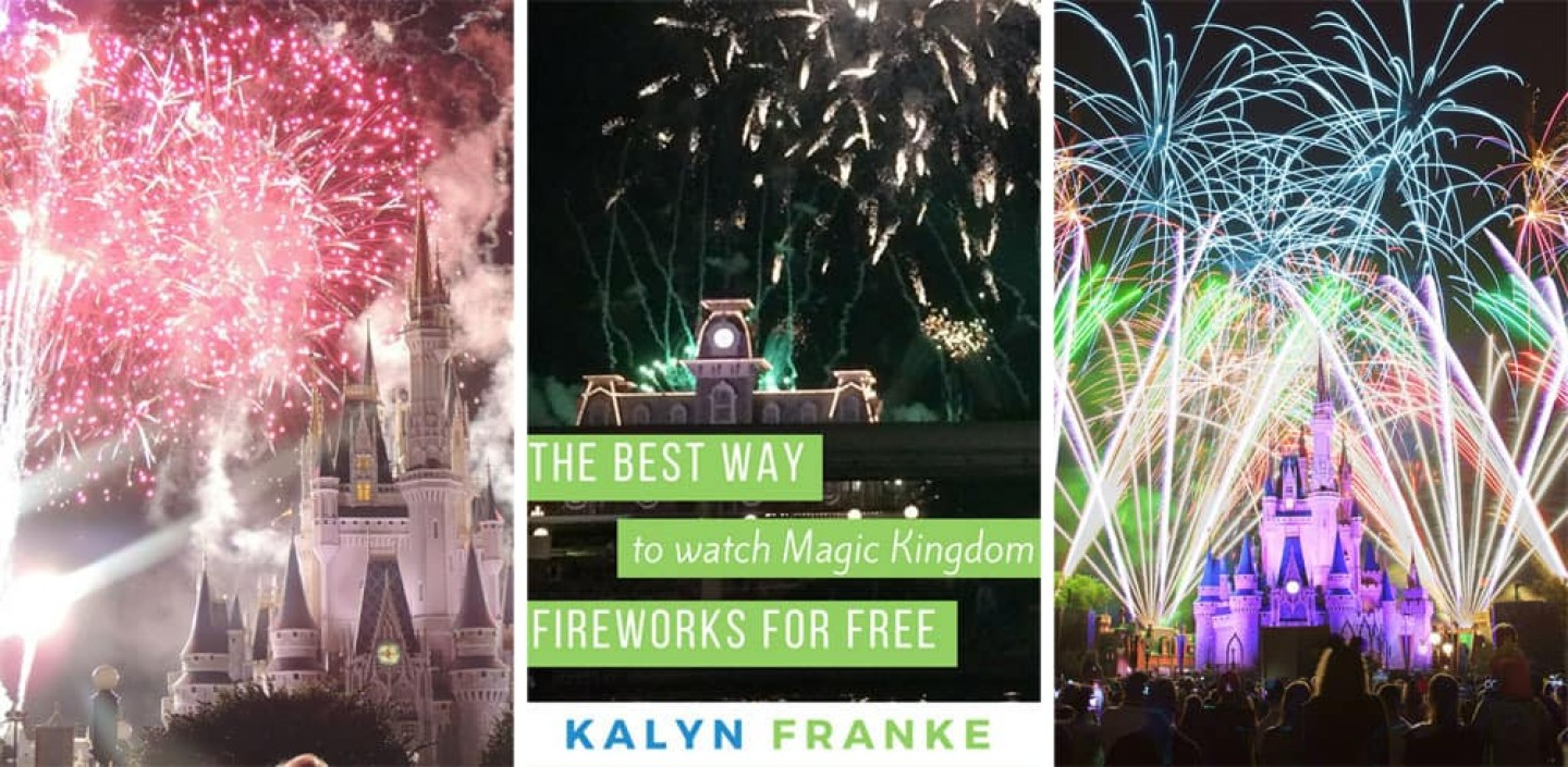 Best Way to Watch Magic Kingdom Fireworks Free