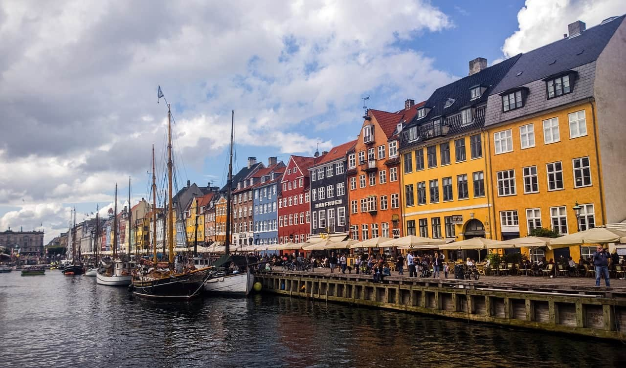 Colorful Nyhavn Harbor