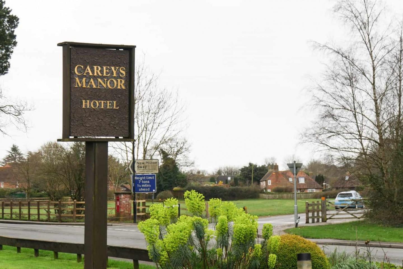 Careys Manor Sign