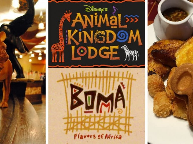 Disney Boma Breakfast Review